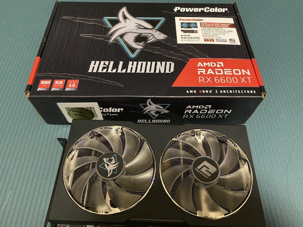 Hellhound AMD Radeon RX 6600 XT 8GB GDDR6